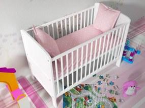 OURBABY detská postieľka - posteľ NATÁLIA biela
