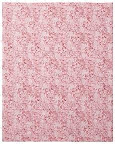 MERADISO® Obrus (kvety červená obdĺžnikový ), viacfarebná červená obdĺžnikový (100302195)