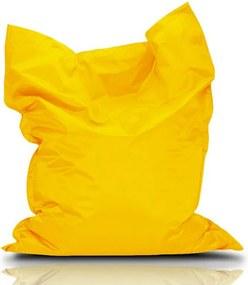 BulliBag Sedací vak - žltý, 145x100 cm