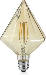 KRISTALL | Dekoratívna LED žiarovka E27 4W/2700K