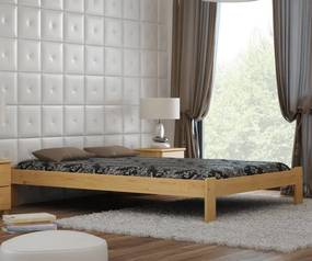 MAGNAT posteľ ADA 140x200 s roštom - masív borovica