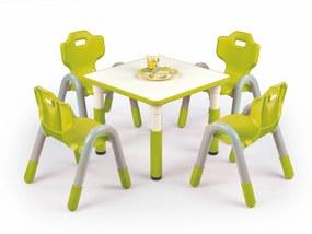 Halmar Detský stolík Simba - štvorec zelená