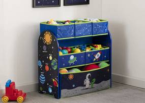 Organizér na hračky - astronaut