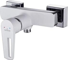 CERSANIT MILLE - sprchová batéria, biela/chróm, S951-033