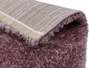Astra - Golze koberce Kusový koberec Matera 180018 Mauve - 67x130 cm