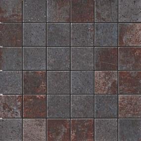 Mozaika Cir Metallo nero 30x30 cm mat 1062372