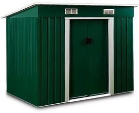 InternetovaZahrada - Záhradný domček Z2 196 x 122 x 180cm zelený