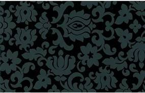 Samolepiaca fólia 11117 Klasický ornament čierna 90cm x 15m