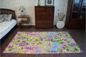 Detský koberec Sweet Town 150 x 200 cm