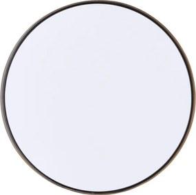 HOUSE DOCTOR Kruhové zrkadlo s mosadznou obrubou Reflection veľké