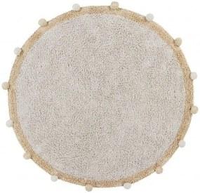 lovel.sk Okrúhly koberec Bubbly Natural Honey