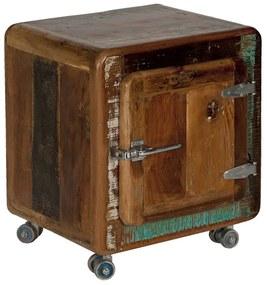 SIT MÖBEL Nočný stolík FRIDGE 50 × 38 × 56 cm