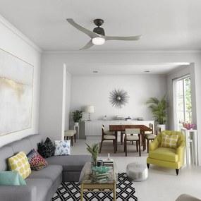 Hunter Harmony stropný ventilátor bronz/svetlosivá