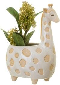 sass & belle Keramický obal na kvetináč Gina Giraffe