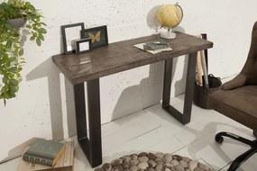 Germany I - Konzolový stolík Iron Craft 115cm šedá mango
