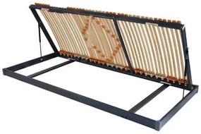 Ahorn TRIOFLEX kombi P PRAVÝ - prispôsobivý posteľný rošt s bočným výklopom 80 x 200 cm