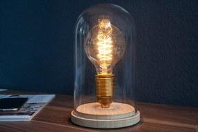 Bighome - Stolná lampa EDI - prírodná