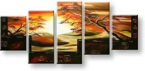 Ručne maľovaný obraz na stenu AFRIKA FB336E5