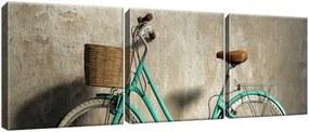 Obraz na plátne Retro bicykel 90x30cm 1115A_3A