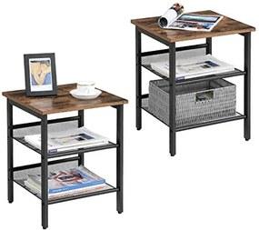 Odkladací / nočný stolík LET24X sada 2 ks, 2305-13-06