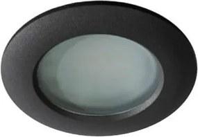 Vonkajšie podhľadové svietidlo AZZARDO EMILIO black AZ0809