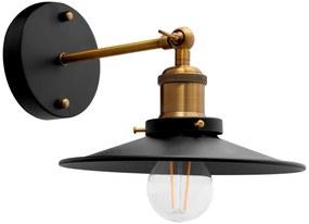 TooLight Nástenná lampa PORTO KINKIET BLACK