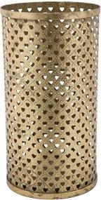 Železný stojan na dáždniky Mauro Ferretti Cuoricini Glam, ⌀ 24 cm