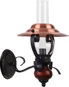 Rábalux Enna 7868 Nástenné Lampy čierny bronz E14 1x MAX 40W Ø120 x 200 x 310 mm