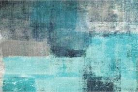 Koberec, modrá/sivá, 120x180, ESMARINA TYP 2