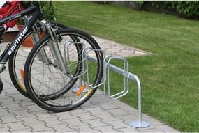 Jednostranný stojan na bicykle s kolmým státím
