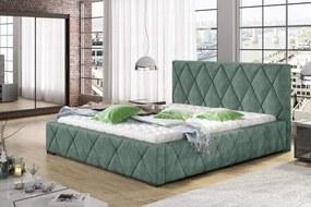 Dizajnová posteľ Kale 160 x 200 - 8 farebných prevedení