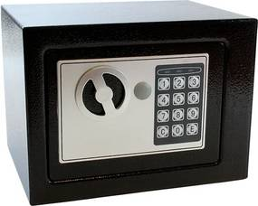 APT Trezor digitálne 170 x 230 x 170 mm, čierny, AG613