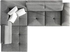 Luxusní sedací souprava Cinnamon, hnědá  Roh: Orientace rohu Levý roh