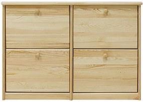 AMI nábytok skříňka na boty č.17 borovice