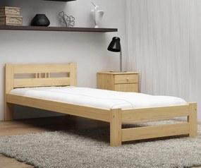 AMI nábytok Posteľ borovica nie je lakovaná LUX VitBed 90x200cm