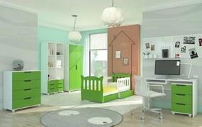 Detská izbová zostava zelená Dundee