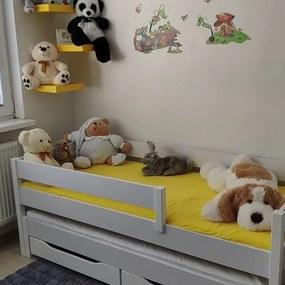 LU Junior 200x90 detská posteľ rozkladacia posteľ - rôzne farby Farba: Dub bielený