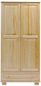 AMI nábytok Skříň věšák ořech šířka 80 cm