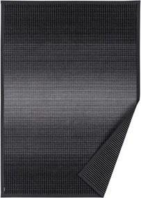 Antracitovosivý vzorovaný obojstranný koberec Narma Moka, 140x200cm