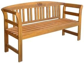 vidaXL Záhradná lavička 157 cm, akáciový masív