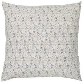 IB LAURSEN Poťah na vankúš Beige Small Blue Flowers 50x50