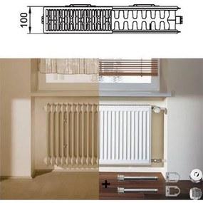 BAZÁR Kermi Therm X2 Profil-Kompakt panelový radiátor 22 554/1300 FK022D513