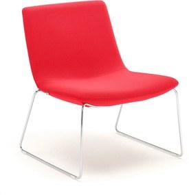 Stolička Otis, červená