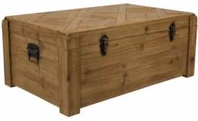Dřevěná truhla Lon Trunk Dutchbone 75000002