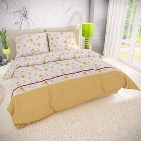 Kvalitex Bavlnené obliečky Sunny, 240 x 200 cm, 2 ks 70 x 90 cm