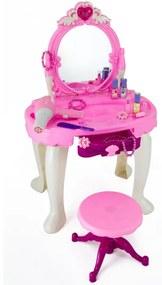 G21 Hračka Kozmetický stolík BEAUTIFUL s fénom