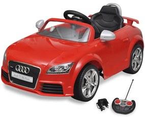 vidaXL Auto pre deti Audi TT RS s diaľkovým ovládaním červené