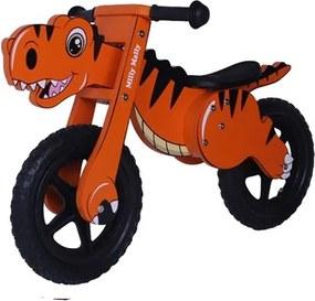 MILLY MALLY Nezaradené Detské odrážadlo-bicykel Milly Mally DINO orange Oranžová |