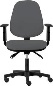 Sconto Kancelárska stolička DELILAH sivá