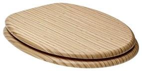 WC doska Glacera MDF bambus 2072